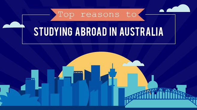 Top 5 Reasons to Study in Australia!
